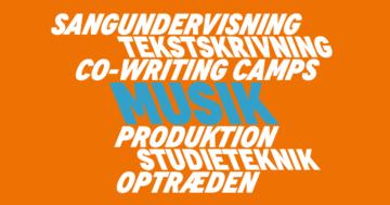 Højskolelærer i musik på Roskilde Festival Højskole