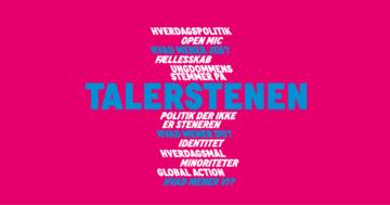 Talerstenen - Roskilde Festival Højskole - 1. maj